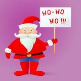 Santa Claus cartoon Stock Photo