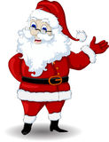 Santa claus cartoon for you design Stock Images