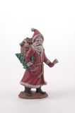 Santa Claus ceramiczne Zdjęcia Royalty Free