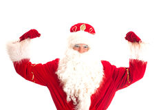 Santa Claus - champion. Royalty Free Stock Image