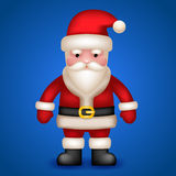 Santa Claus Character Vector Illustration Stock Image