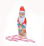 Santa Claus chocolate Royalty Free Stock Photography