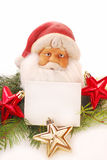 Santa claus for christmas Stock Images