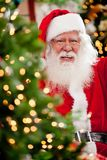 Santa Claus at Christmas Stock Images