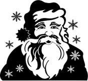 Santa Claus - Christmas. Fat & Jolly Santa Claus - Vector Image Royalty Free Stock Images