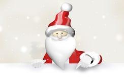Santa Claus Christmas Lizenzfreies Stockfoto