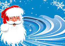 Santa Claus Christmas background Stock Image