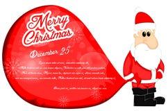 Santa Claus Christmas Background Photos libres de droits