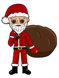 Santa Claus - Christmas clipart Royalty Free Stock Photo