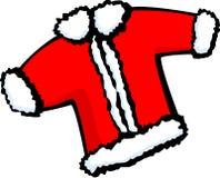 Santa claus christmas coat vector illustration. Vector illustration of a santa claus christmas coat Stock Photo