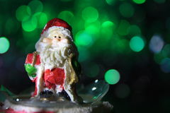 Santa Claus Christmas Decoration stockfotos