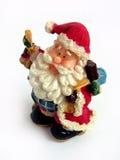 Santa claus Christmas decoration. Santa claus toy Christmas decoration, isolated white background Royalty Free Stock Image