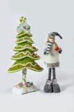 Santa Claus Christmas garneringar Royaltyfri Foto