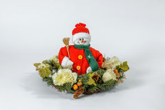Santa Claus Christmas garneringar Royaltyfria Foton