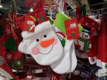 Santa Claus and Christmas gift decorations. Christmas is coming, the mall Santa Claus and Christmas gift decorations and so on. In shenzhen, China Stock Images