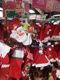 Santa Claus and Christmas gift decorations. Christmas is coming, the mall Santa Claus and Christmas gift decorations and so on. In shenzhen, China Stock Photos