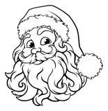 Santa Claus Christmas Illustration vektor illustrationer