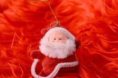 Santa Claus, christmas invitation card Royalty Free Stock Photography