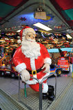 Santa Claus in Christmas market Stock Photography