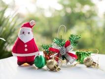Santa Claus and Christmas Stock Photo