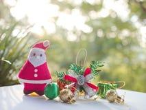 Santa Claus and Christmas Stock Image