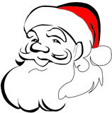 Santa claus. Christmas, new year. Royalty Free Stock Image