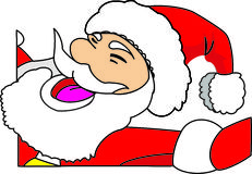 Santa claus. Christmas, new year. Stock Image