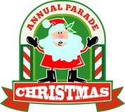 Santa Claus Christmas Parade Royalty Free Stock Photos