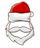 Santa Claus Christmas Photo Template Stock Image
