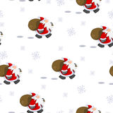 Santa Claus Christmas Texture Royalty Free Stock Photography
