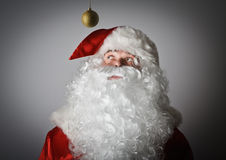 Santa Claus and Christmas toy Stock Photo