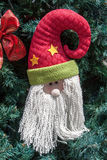 Santa Claus in Christmas Tree Royalty Free Stock Photo