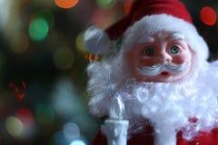 Santa Claus. And Christmas tree Royalty Free Stock Photos