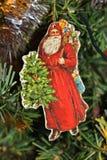 Santa Claus. A Santa Claus in a Christmas tree Stock Image