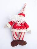 Santa Claus; Christmas tree decoration. stock photography