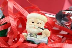 Santa Claus Christmas Tree Ornament Royalty Free Stock Image
