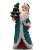 Santa Claus with Christmas tree Stock Photos
