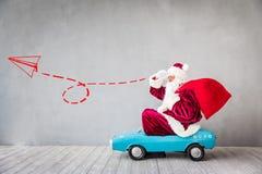 Santa Claus Christmas Xmas Holiday Concept stock afbeelding