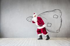 Santa Claus Christmas Xmas Holiday Concept Image stock