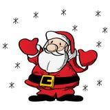 Santa Claus clip art Stock Images