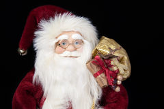 Santa Claus closeup portrait Royalty Free Stock Photos
