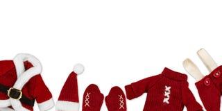 Santa Claus clothes Royalty Free Stock Photos
