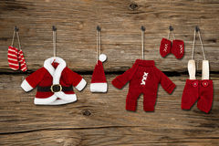 Santa Claus clothes Stock Images
