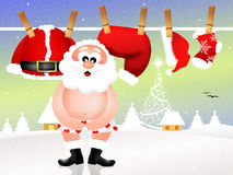 Santa Claus clothes Stock Photography