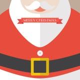 Santa Claus Coat Merry Christmas Imagen de archivo libre de regalías