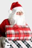 Santa Claus com presentes Imagem de Stock Royalty Free