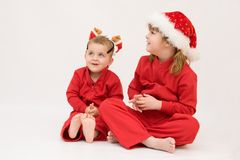 Santa Claus is coming! Royalty Free Stock Photography