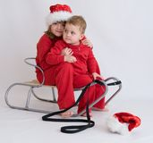 Santa Claus is coming! Stock Photo