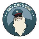 Santa Claus is coming. Stock Photo