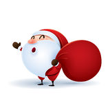 Santa Claus is coming Stock Images